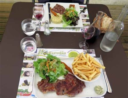 Walking in France: Our main courses