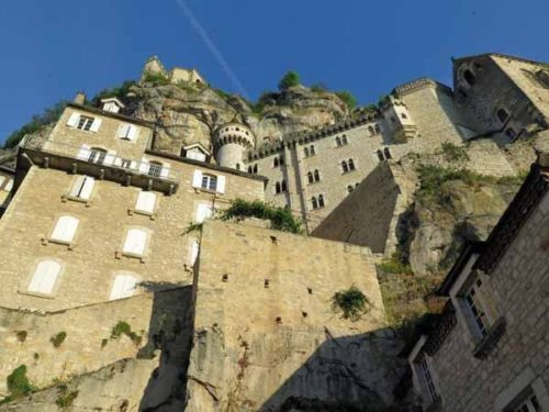 Walking in France: Under the walls of Rocamadour