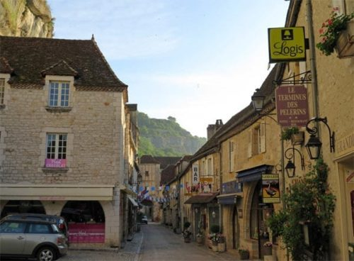 Walking in France: Commerical Rocamadour