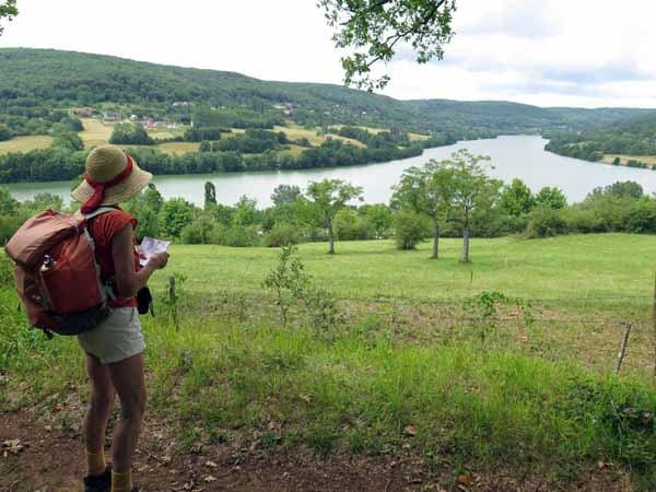 Walking in France: Artificial Lac du Causse