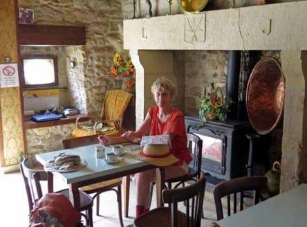 Walking in France: In the bar