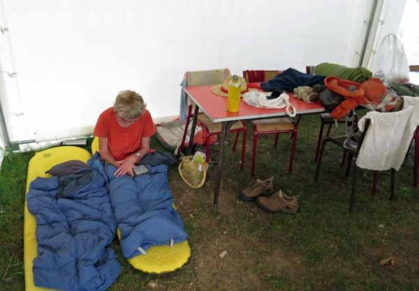 Walking in France: Our unusual sleeping arrangements