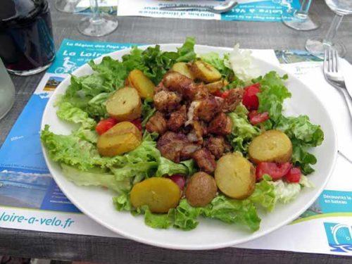 Walking in France: Salade angevine