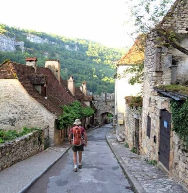 Walking in France: Non-commercial Rocamadour