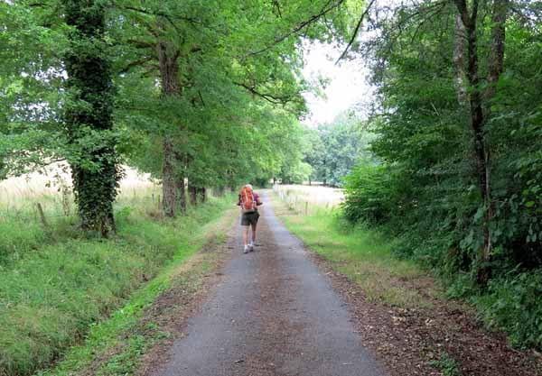 Walking in France: Climbing to Saint-Robert