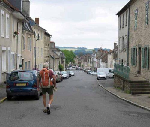 Walking in France: Arriving in Saint-Yriex-la-Perche