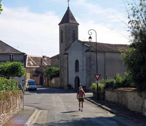 Walking in France: Arriving in la Meyze