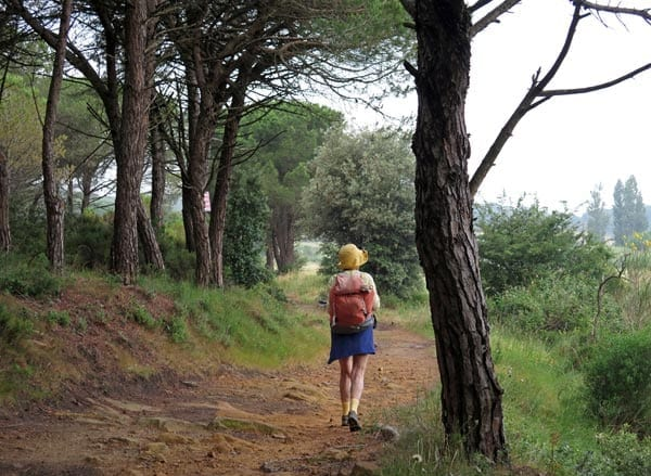 Walking in France: The back way to Bizanet