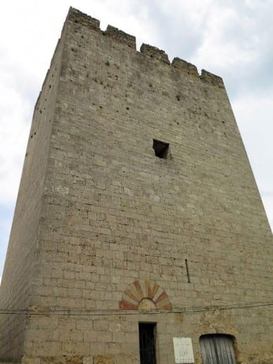 Walking in France: One of Fabrezan's towers