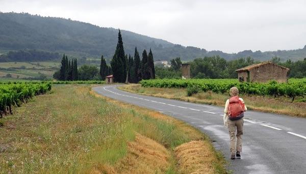 Walking in France: Rain finished?