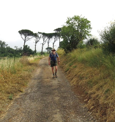 Walking in France: On the way to Boutenac