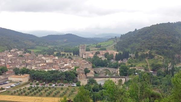 Walking in France: Lagrasse