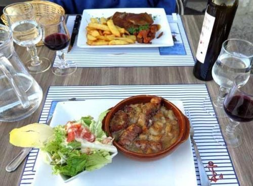 Walking in France: Keith's long anticipated cassoulet
