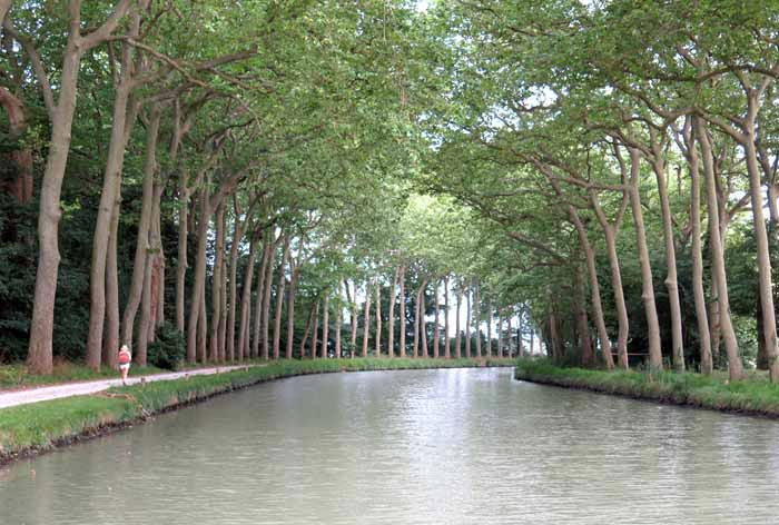 Walking in France: Easy walking on the towpath