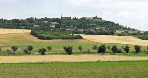 Walking in France: Our escape route from Montferrand