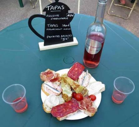 Walking in France: Tapas to start