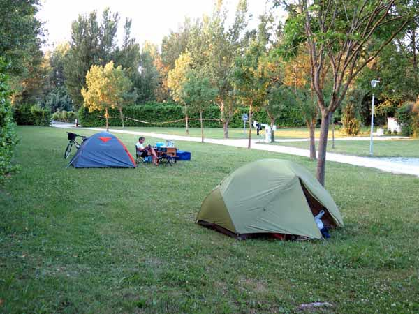 Walking in France: And then back to the camping ground to finish the day