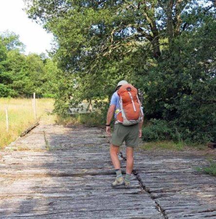 Walking in France: Then gingerly crossing it