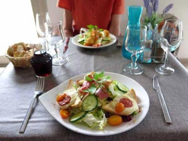 Walking in France: Two reviving salads