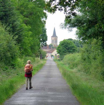 Walking in France: Arriving in Beaulon