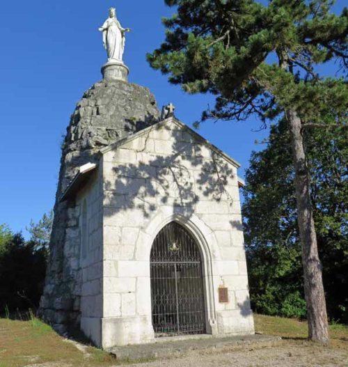 Walking in France: Notre-Dame de la Montagne, Yenne