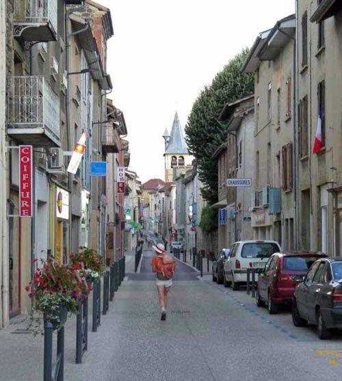 Walking in France: Dawn in Beaurepaire