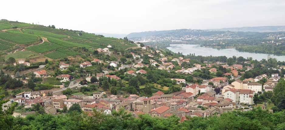 Walking in France: Chavanay and the Rhône