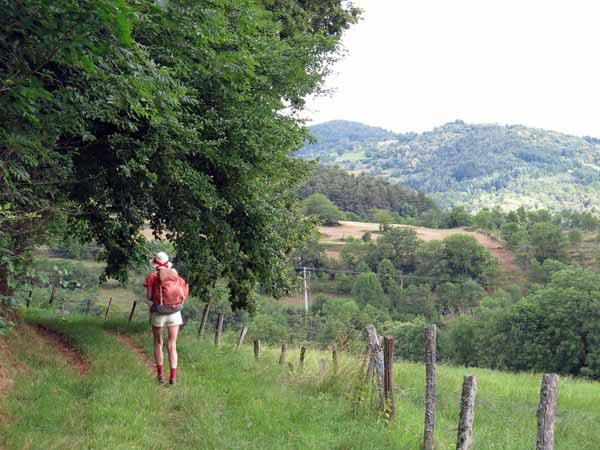 Walking in France: Following the GR65