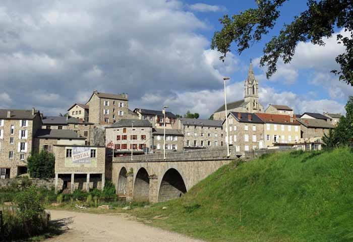 Walking in France: Tence