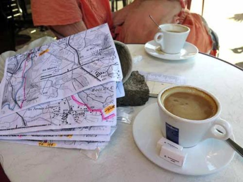 Walking in France: Only five maps left!