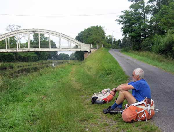 Walking in France: Not travelling well