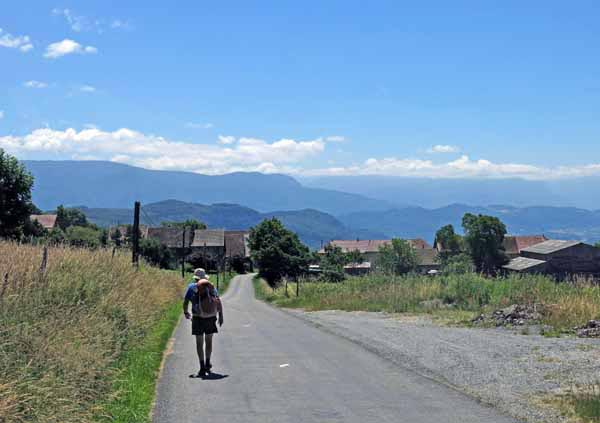 Walking in France: Arriving in St-Maurice-de-Rotherens