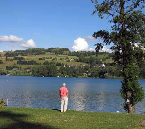 Walking in France: A latter-day Wordsworth searching for a rhyme, lac de Paladru