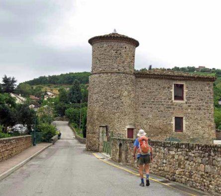 Walking in France: Leaving Chavanay