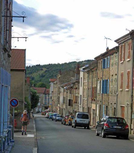 Walking in France: St-Julien-Molin-Molette