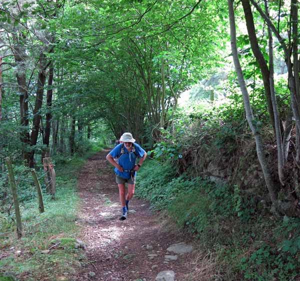 Walking in France: Still climbing