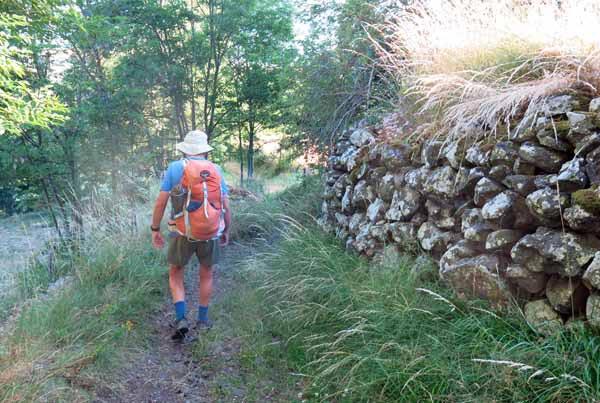 Walking in France: On the GR3