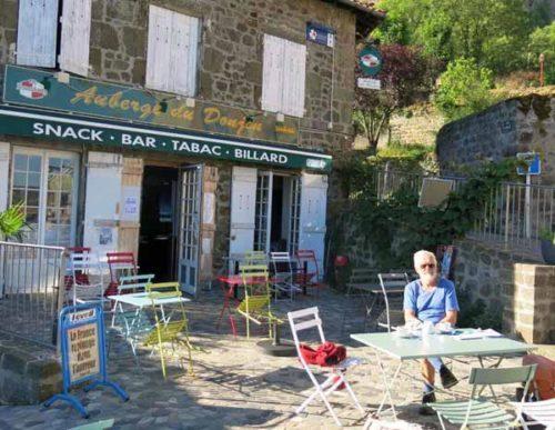 Walking in France: No breakfast in Polignac