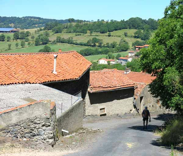 Walking in France: Arriving in Soddes