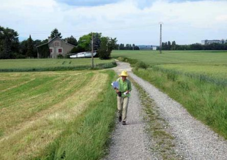 Walking in France: Almost there