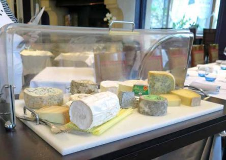 Walking in France: Then a huge cheese trolley