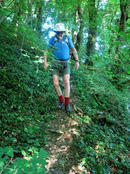Walking in France: Struggling to find the riverside track