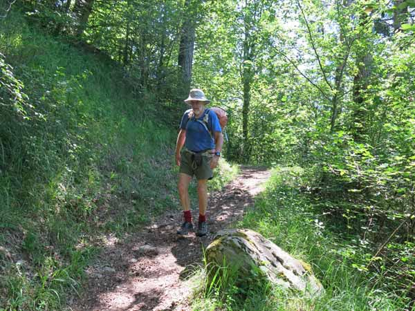 Walking in France: About to arrive at St-Germain-de-Joux