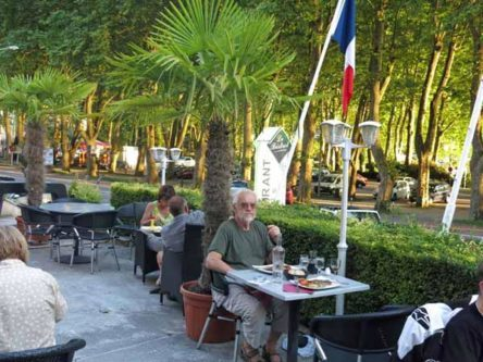 Walking in France: Dining at Le Bistrot, Nantua