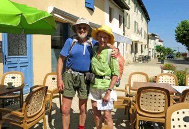 Walking in France: Leaving Trefort