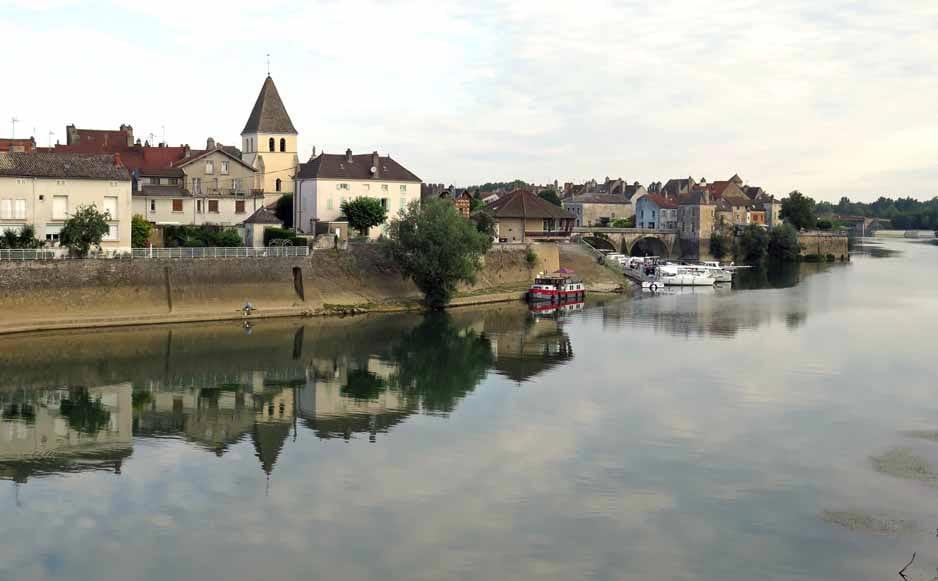 Walking in France: Verdun-sur-le-Doubs