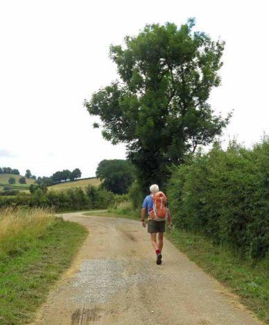 Walking in France: Still dry