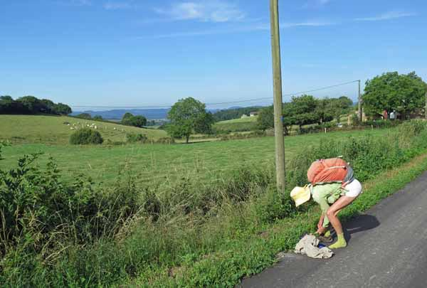Walking in France: A quick change on the D222