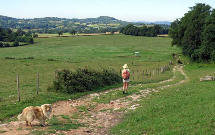 Walking in France: Trying to find our way through les Charlots