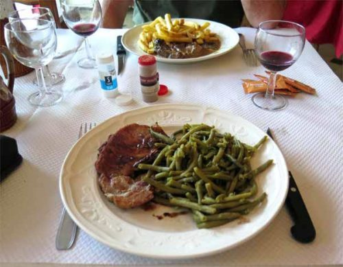 Walking in France: And steaks to finish